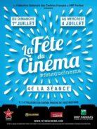 Fête du cinéma 2018 : Du 1er au 4 juillet, toutes les séances à 4€