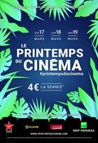 Le printemps du cinéma les 17, 18, et 19 mars; 4 € la séance