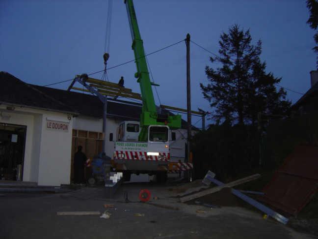 Rehausse du toit de nuit
