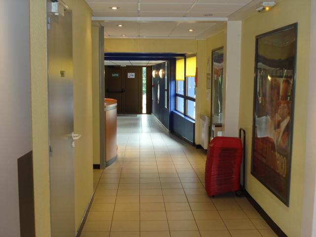 L'accès à la salle