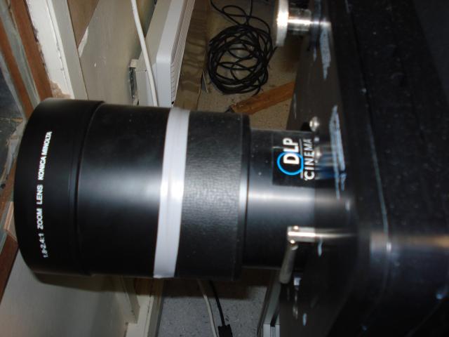 La lentille et la technologie Tri-DLP