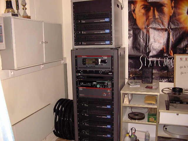 Sonorisation Dolby Digital pour l'argentique et 7.1 pour le numérique